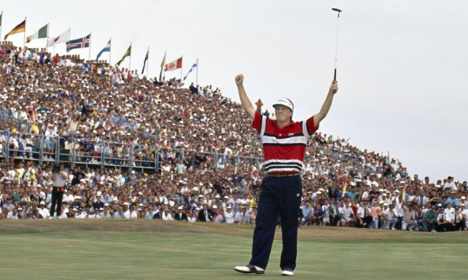 1989 Mark Calcavecchi Wins British Open