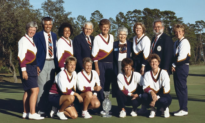 1990 Solheim Cup Founded